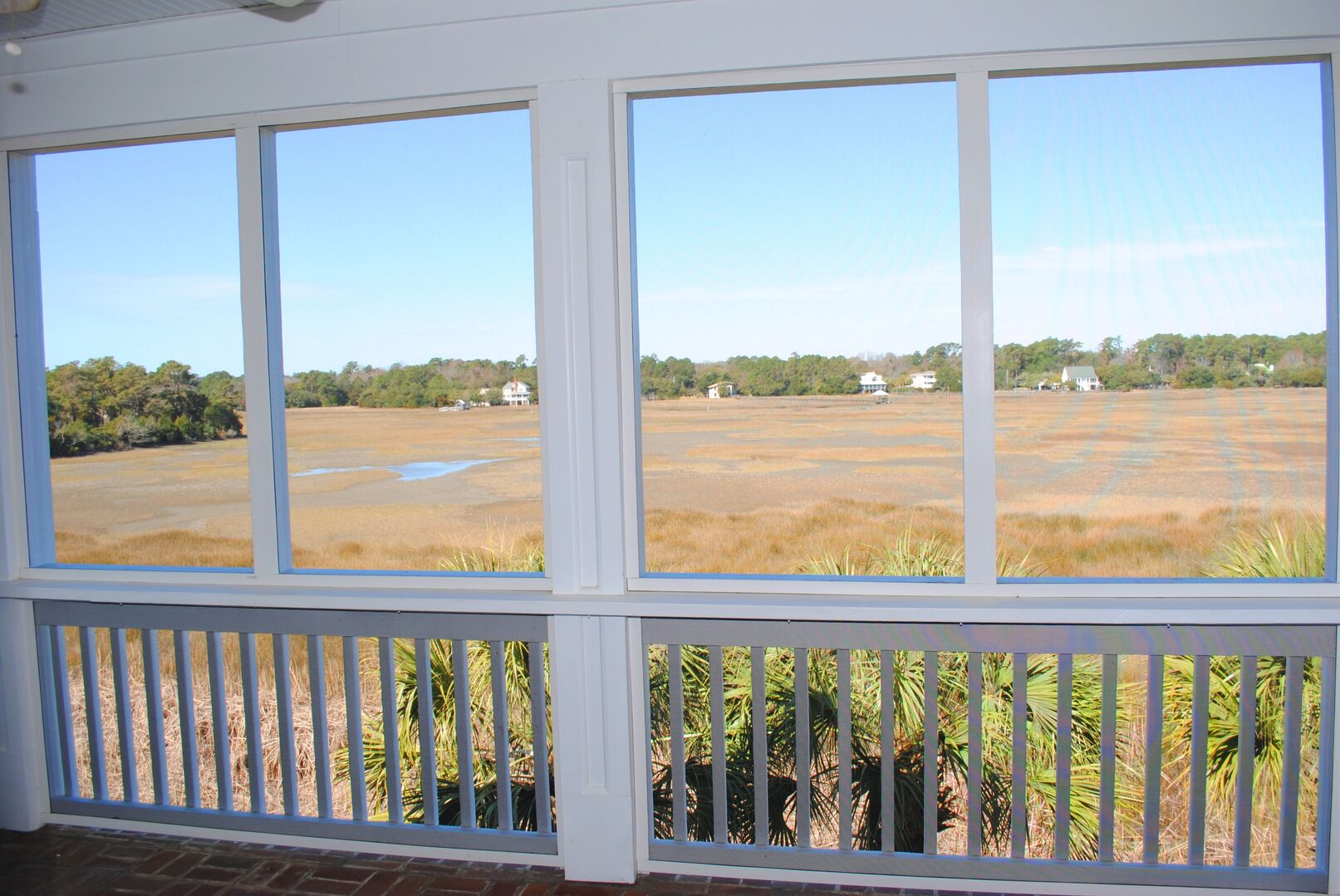 Marsh View from Screened Porch