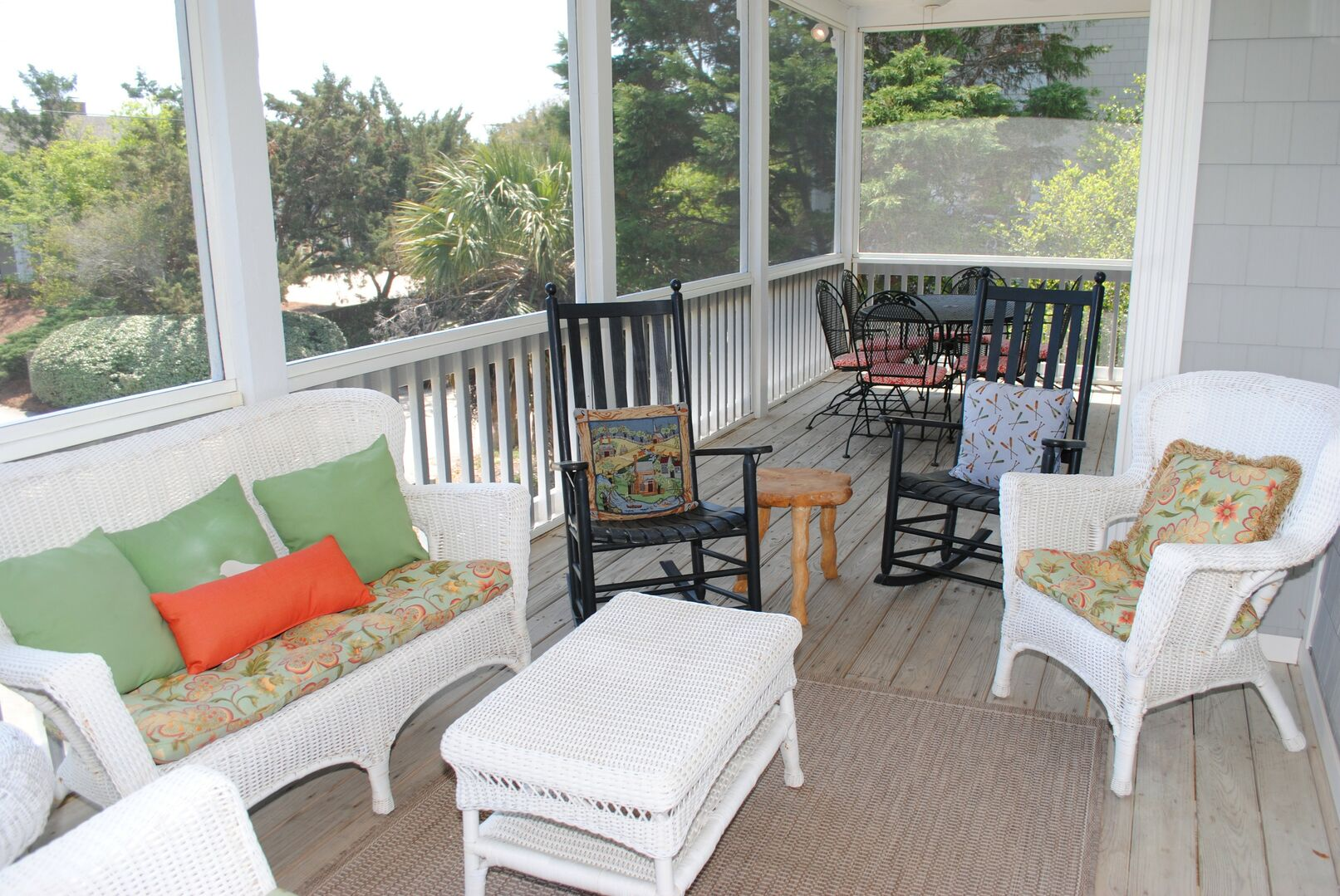 Screened Porch - First Floor