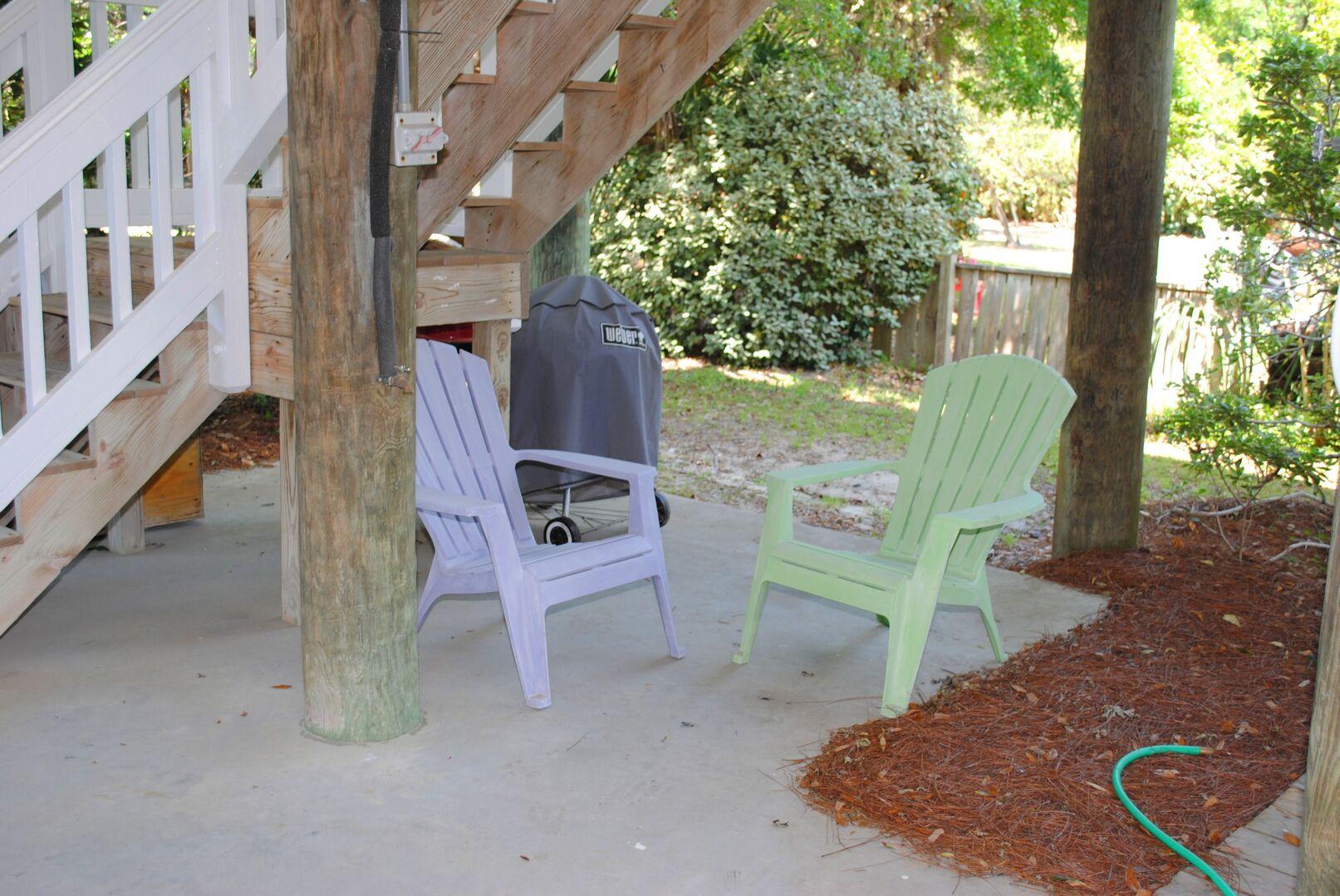 Sitting Area - Ground Level