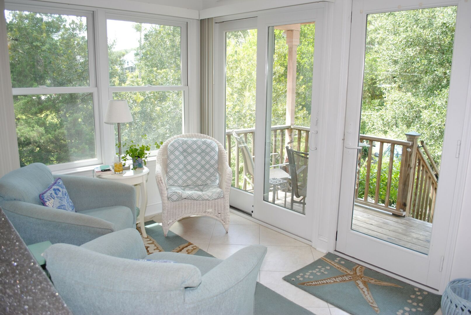 Sun Room Sitting Area