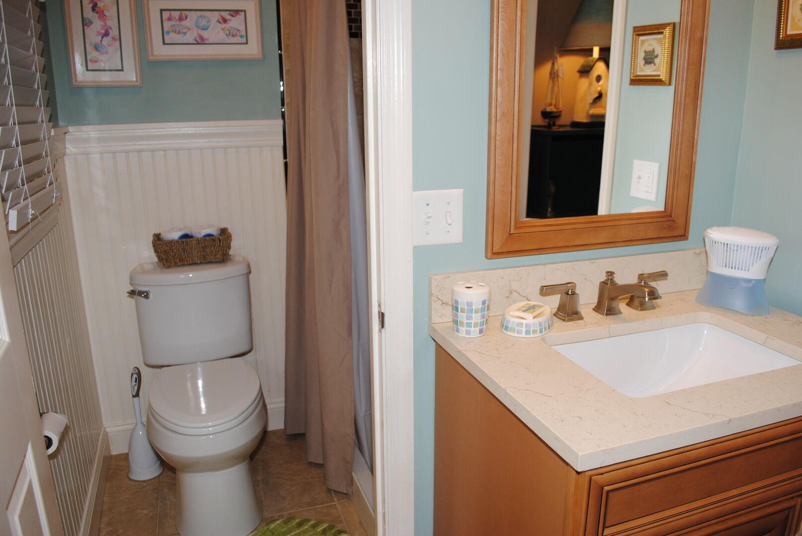 Twins Bathroom - Ground Level