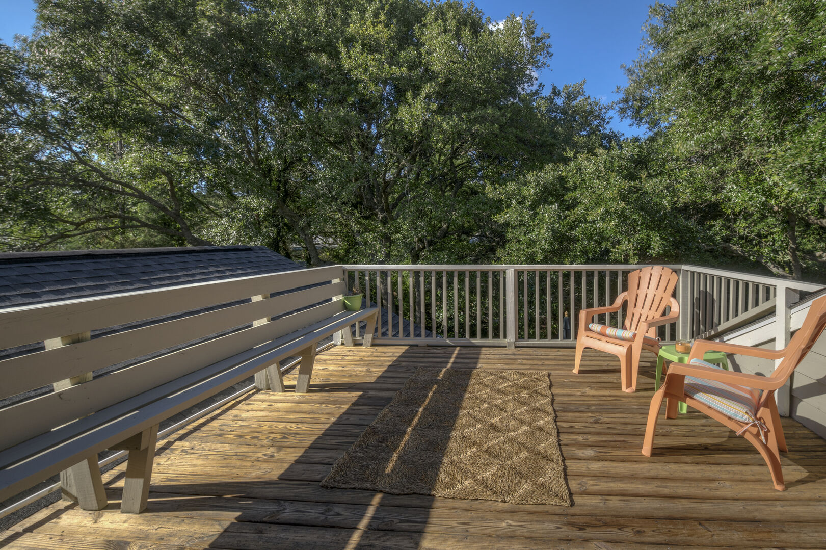 Sun Deck Accessible from Loft