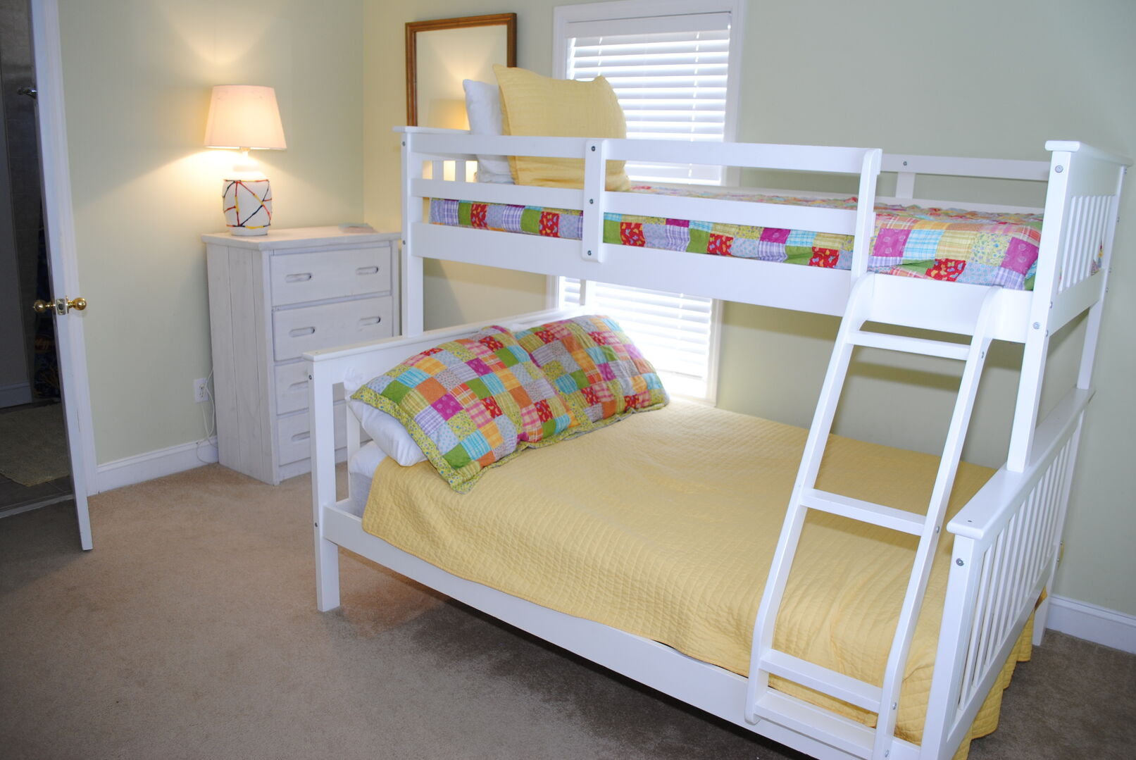 2 Sets of Bunk Beds (1 Full, 3 Twins) - Second Floor