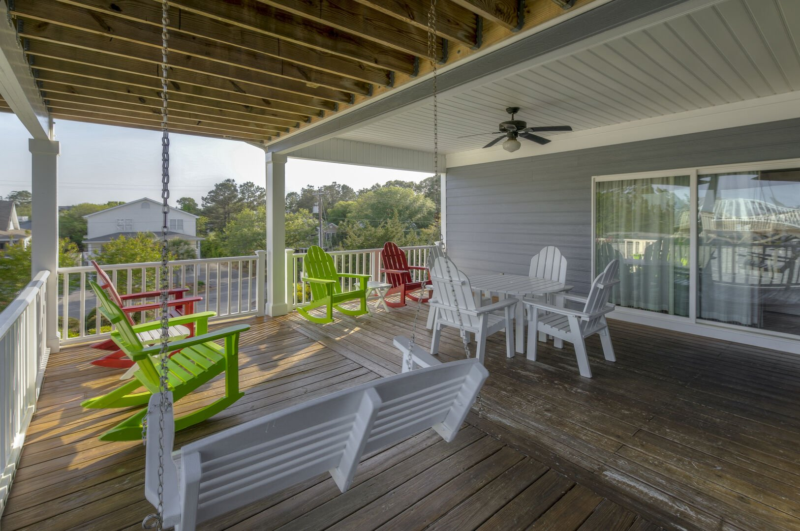 Covered Porch - Second Floor
