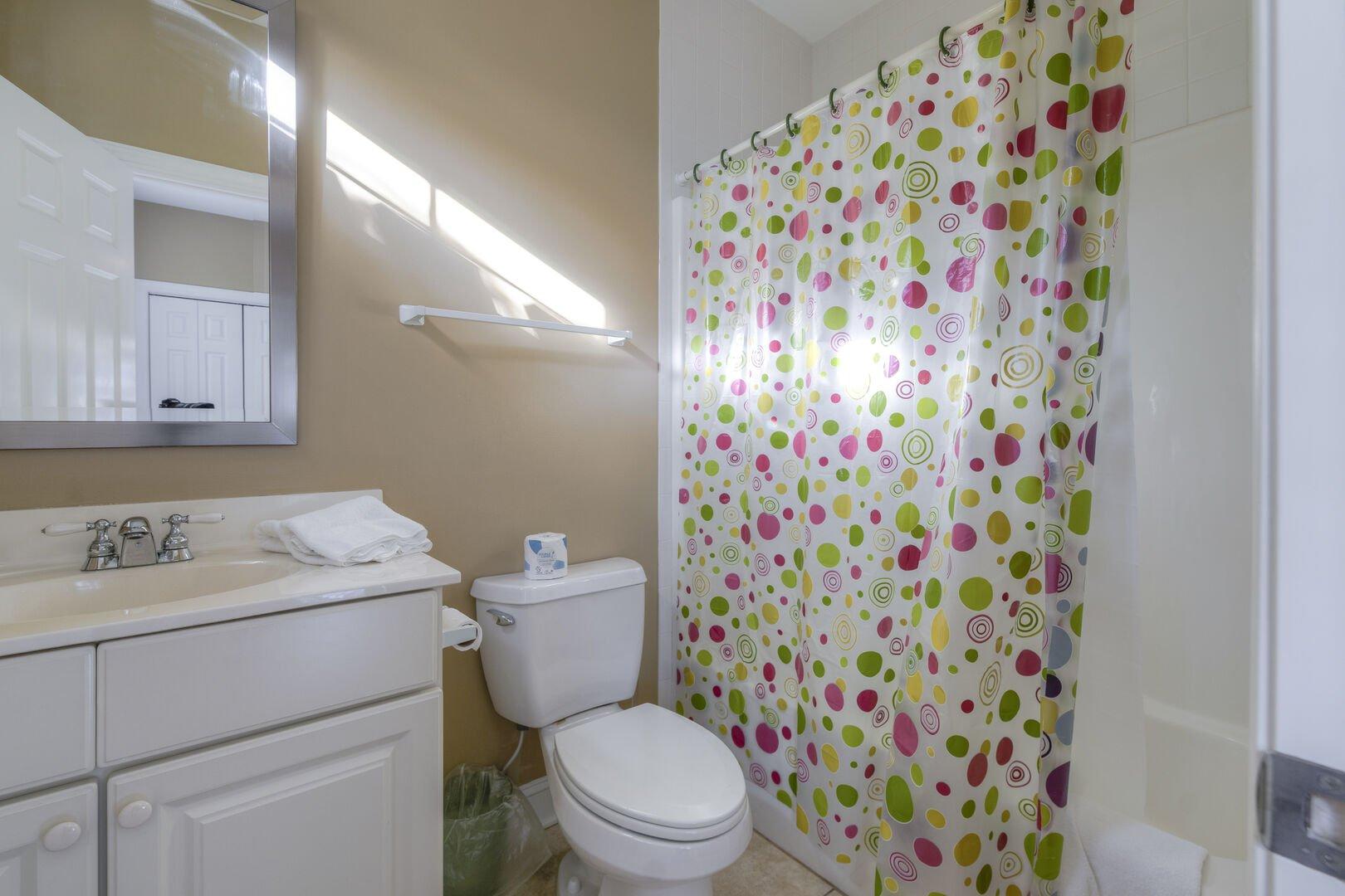Twin/Bunk Bathroom - First Floor