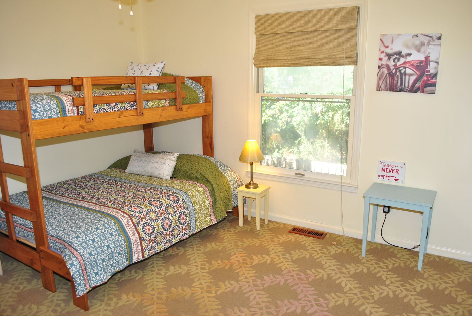 Bunk Bed (Twin Over Full) - First Floor