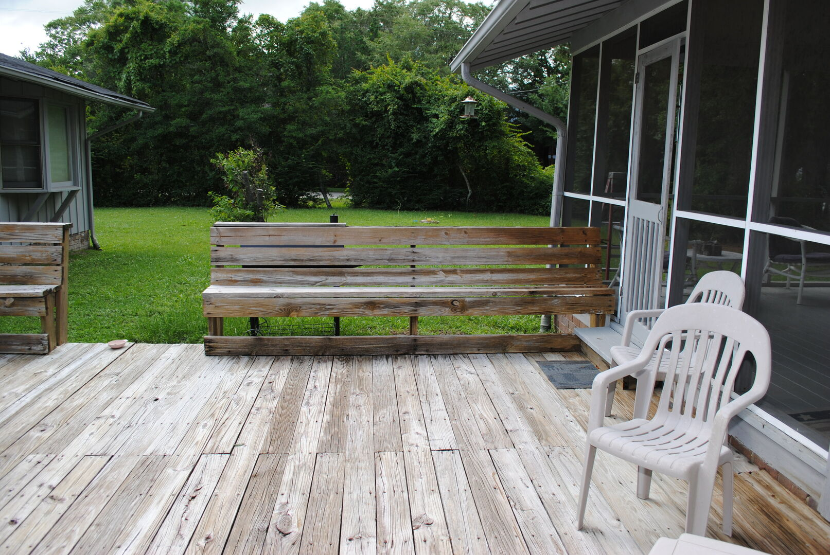 Screened Porch and Sun Deck