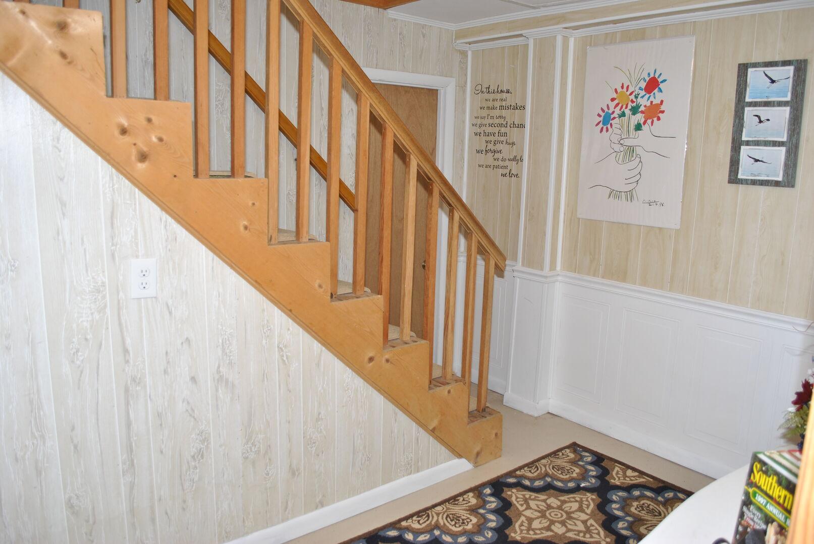 Entrance to Laundry Room - Ground Level