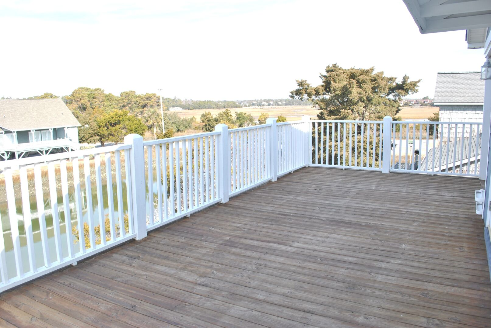Deck on Canal Side - Second Floor