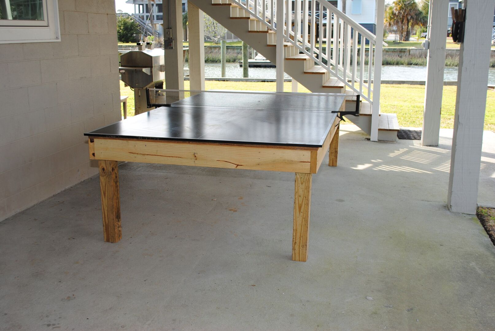 Ping Pong Table - Ground Level
