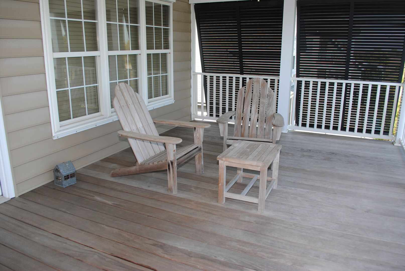 Canal Side Porch - Second Floor
