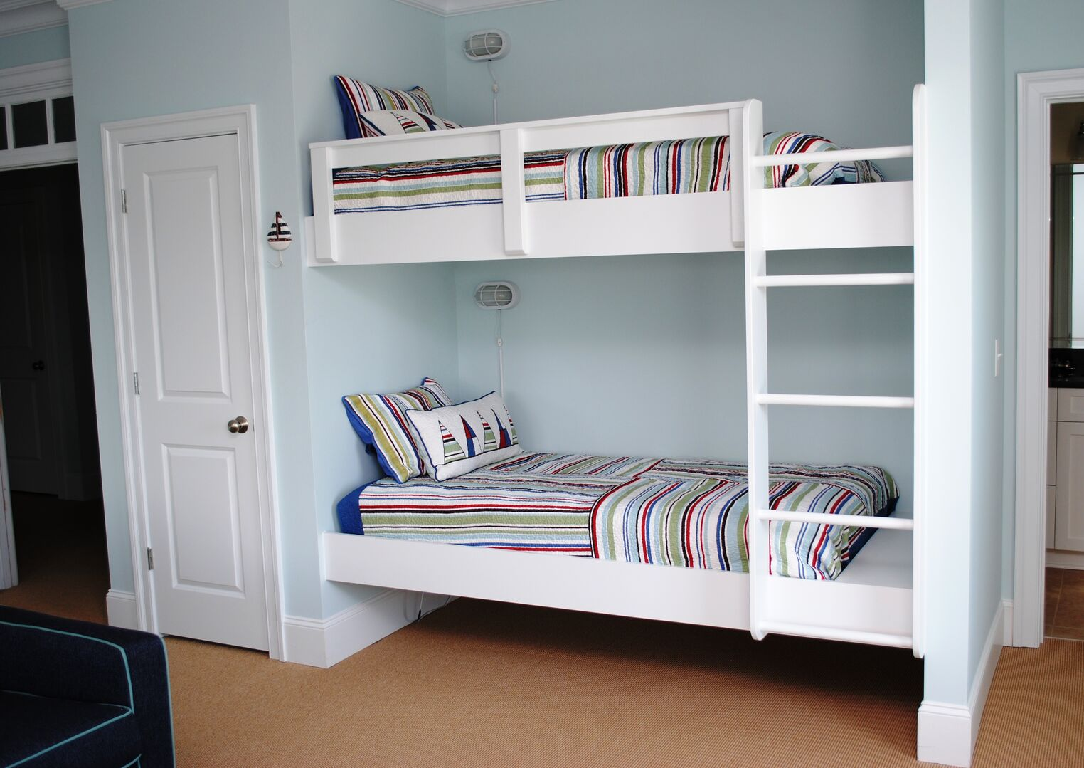 Living Area with Bunk Bed - Second Floor
