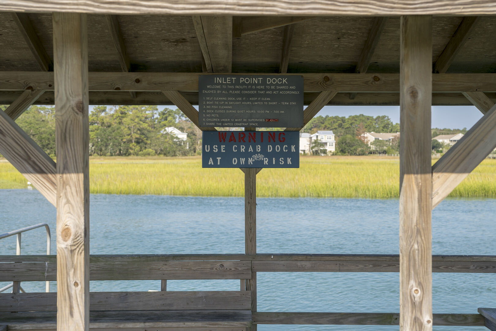 Community Crab Dock - Inlet Point