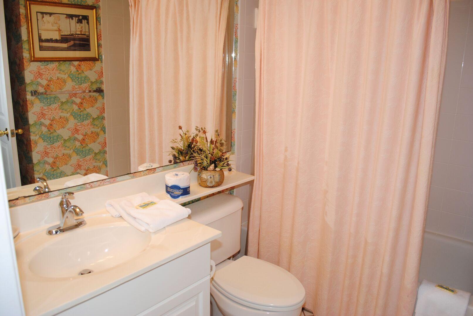 Shared Bathroom (2 Twins and Hallway)