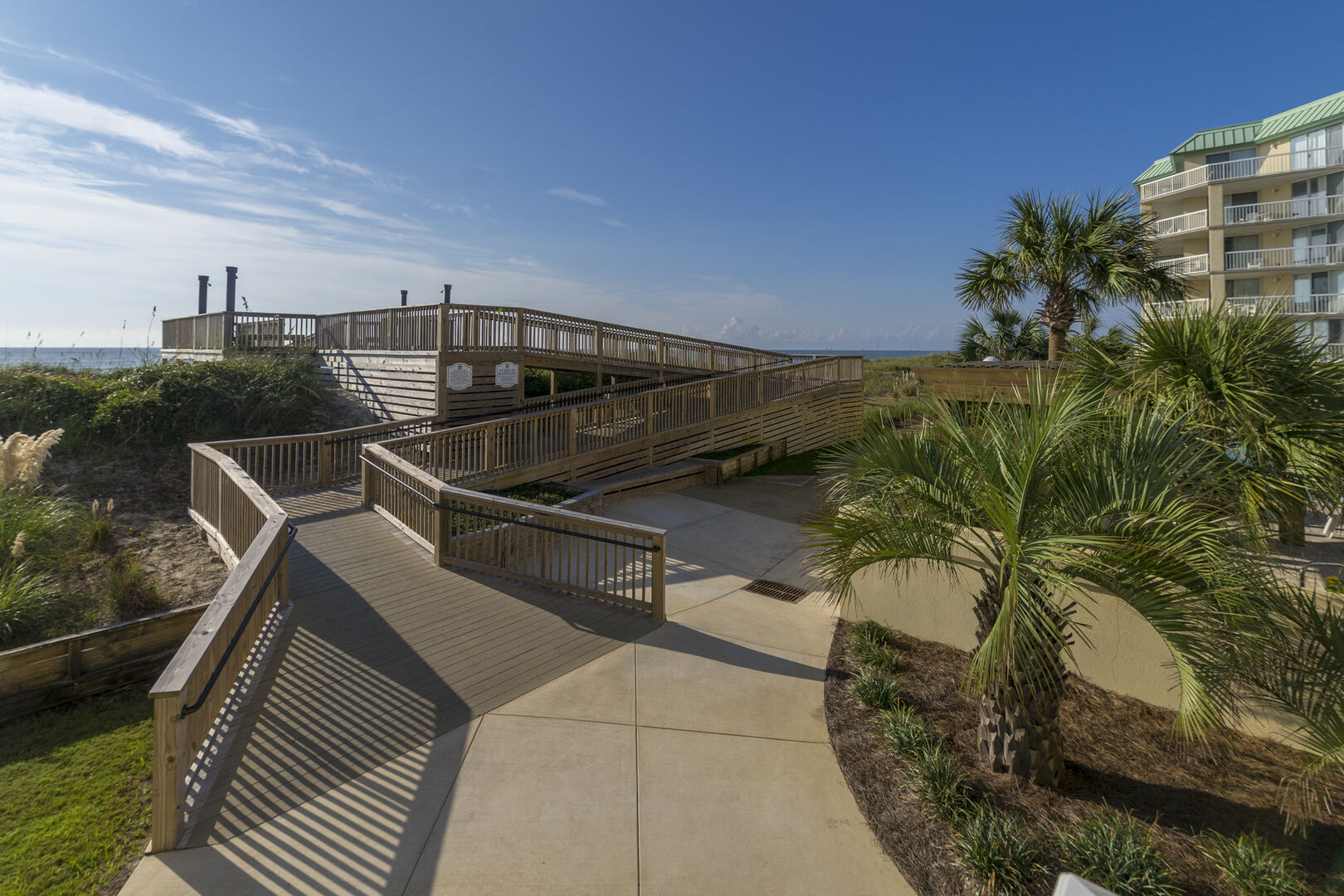 Handicap Accessible Beach Walkway