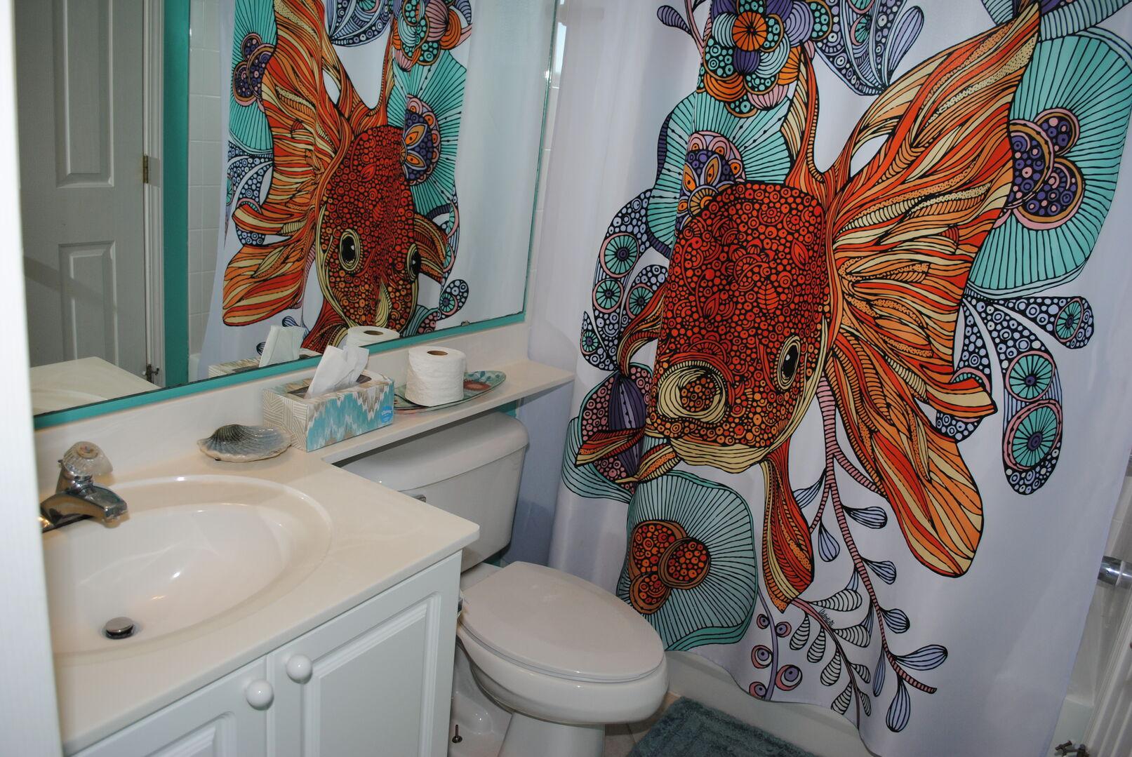Shared Bathroom (Twins and Hallway)