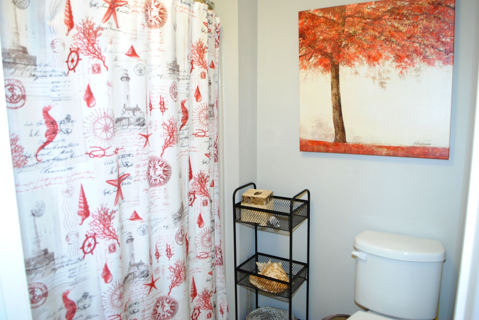 Hallway Bathroom - Second Floor