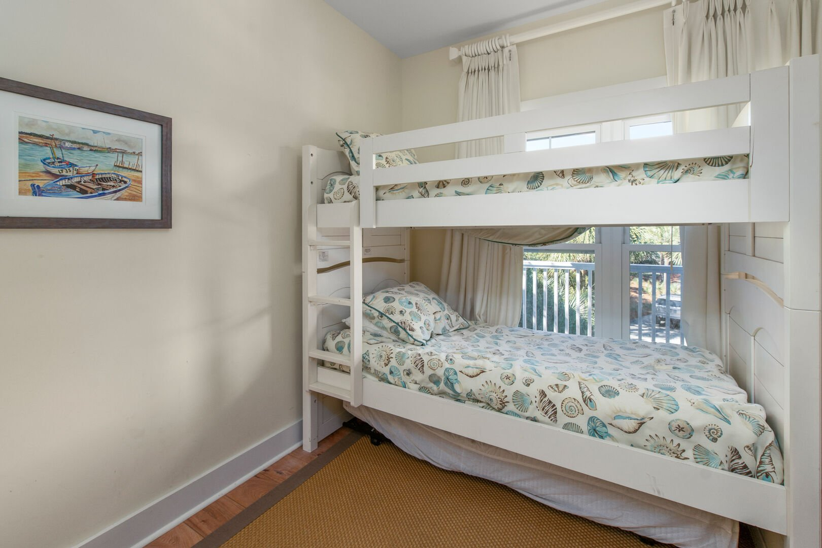 Bunk Bed with Trundle - First Floor