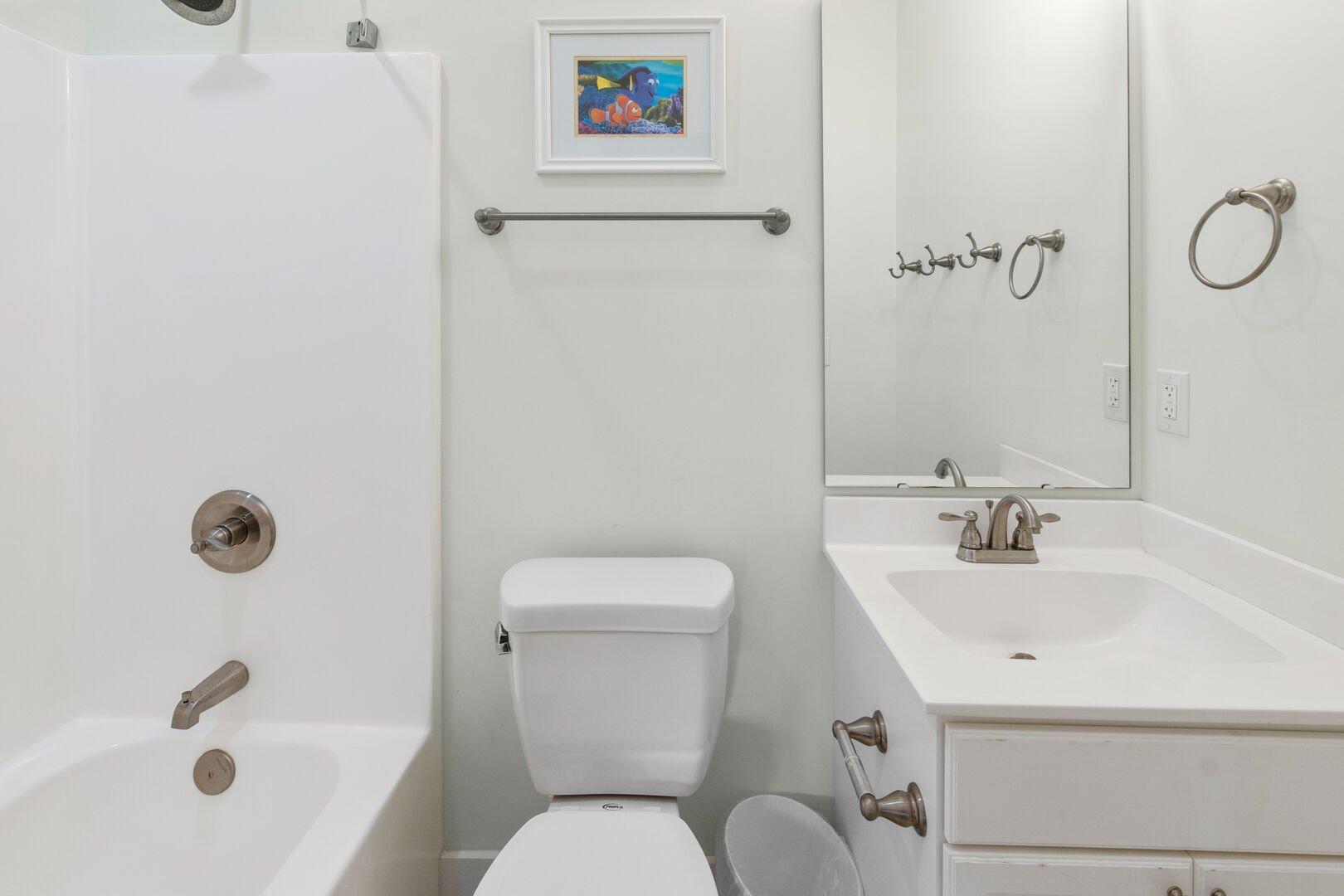 Sets of Bunk Beds Bathroom - First Floor