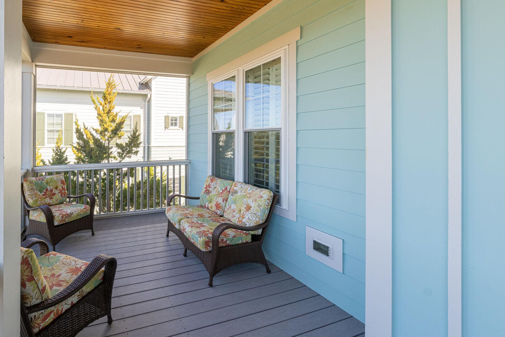 Street Side Porch - Second Floor