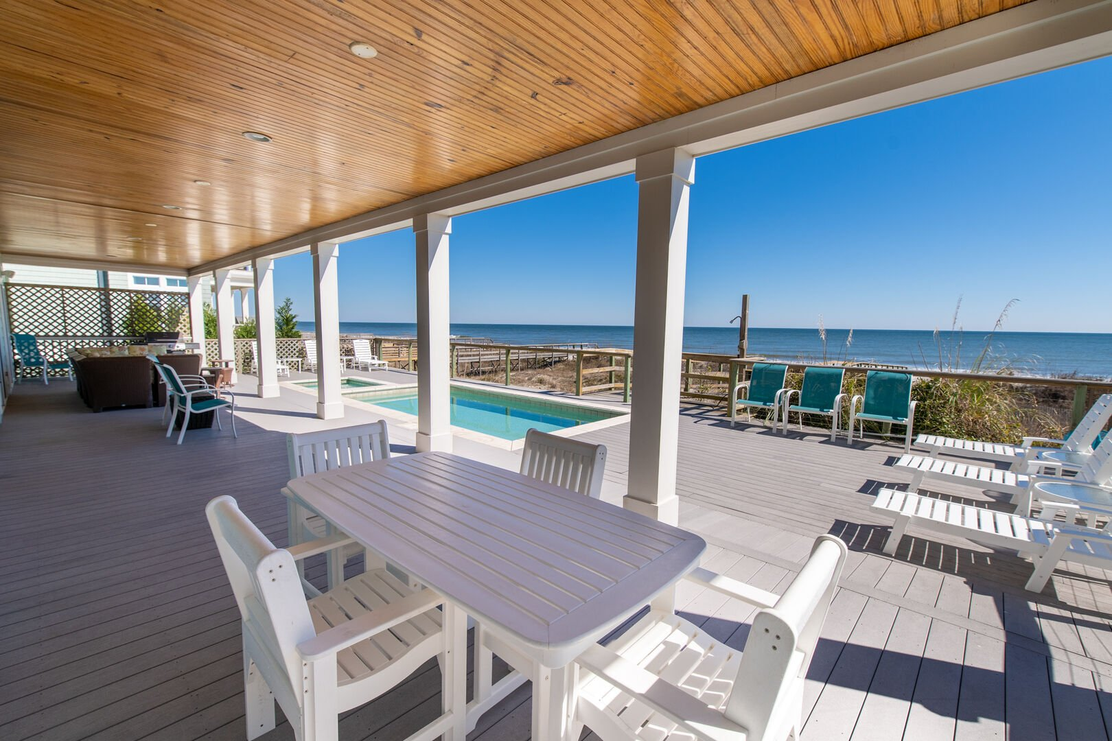 Covered Deck - First Floor