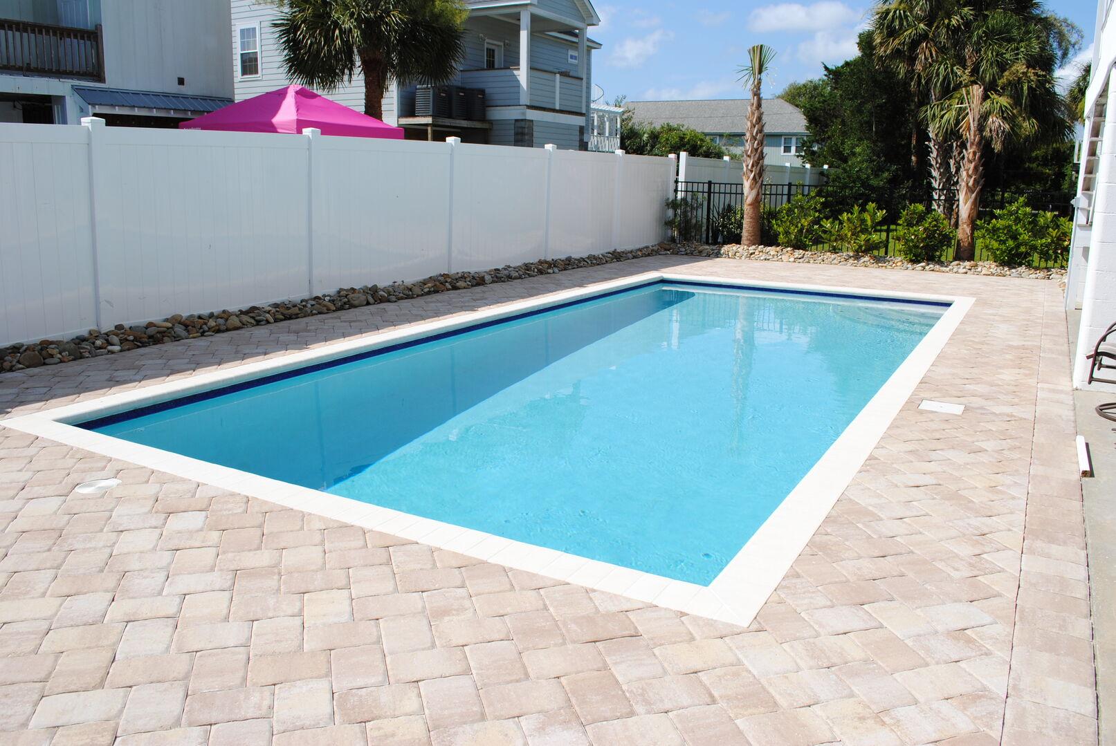 Private Inground Heated** Swimming Pool