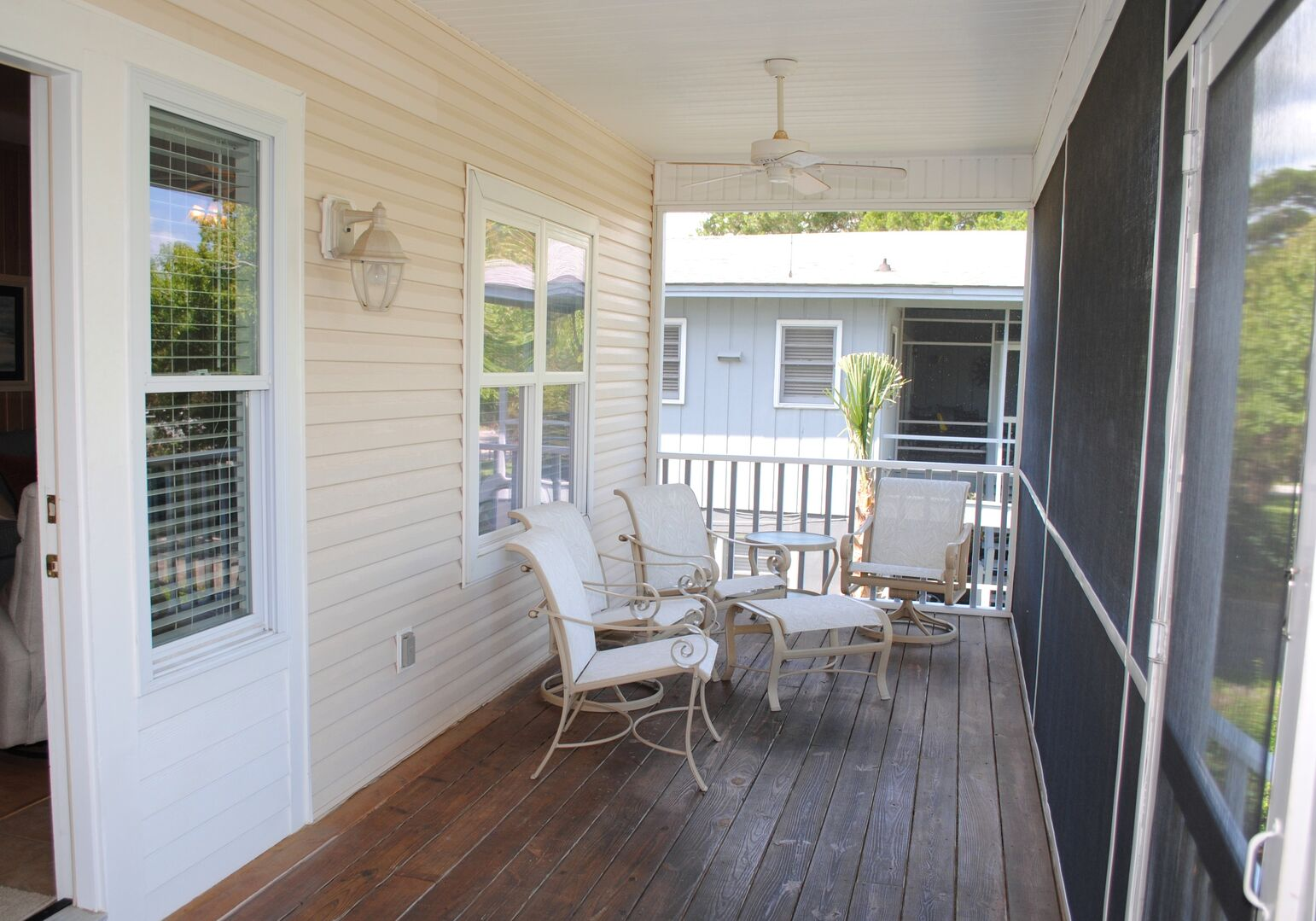 Front Screened Porch - First Floor