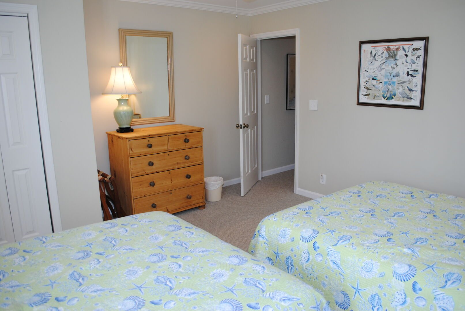 2 Queens - Second Floor (Accessible by hall or king bedroom)