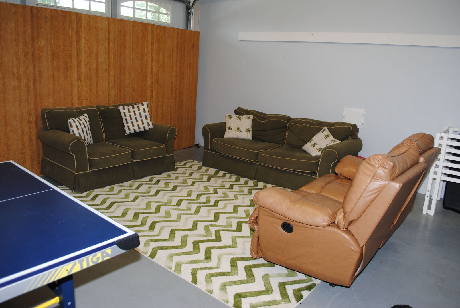 Game Room and Sitting Area - Ground Level
