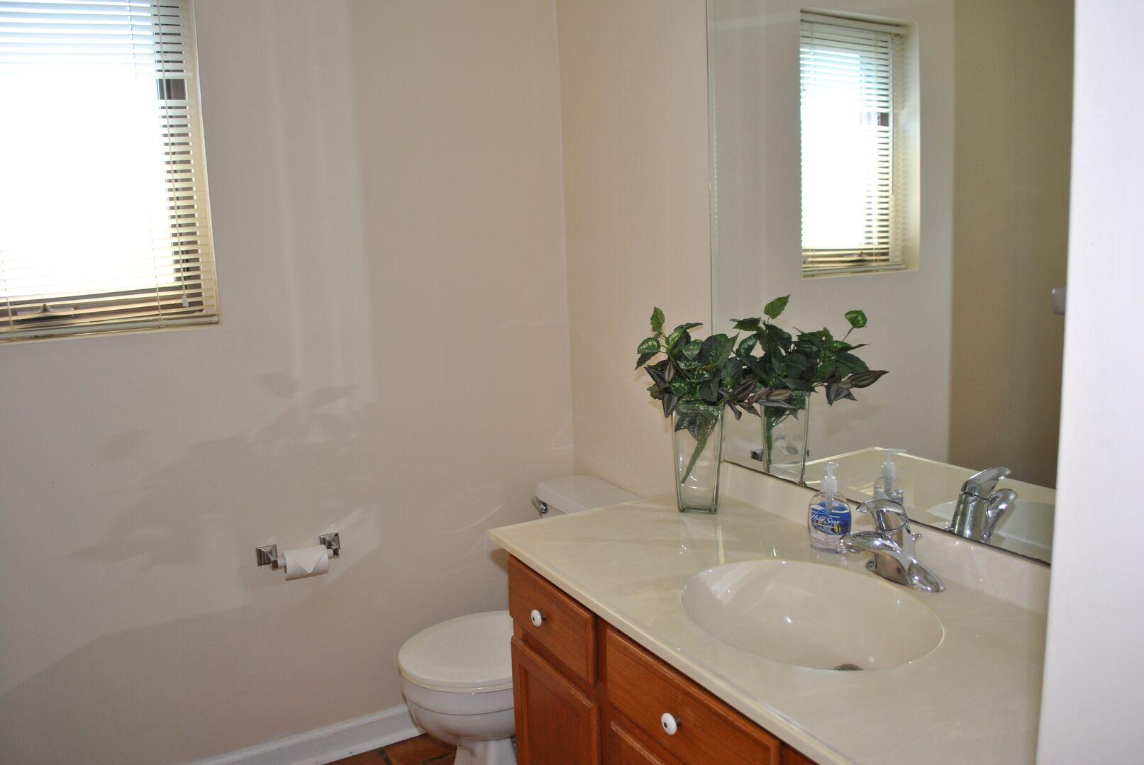 Half Bathroom - First Floor