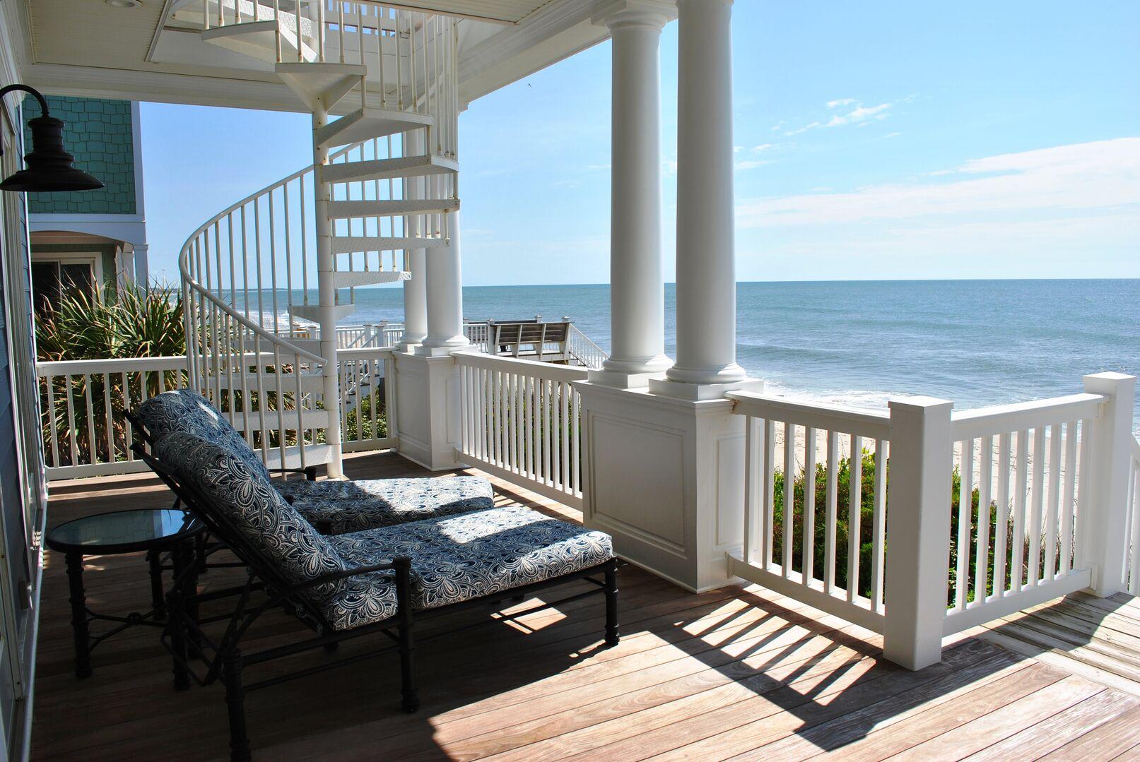 Oceanfront Porch - First Floor
