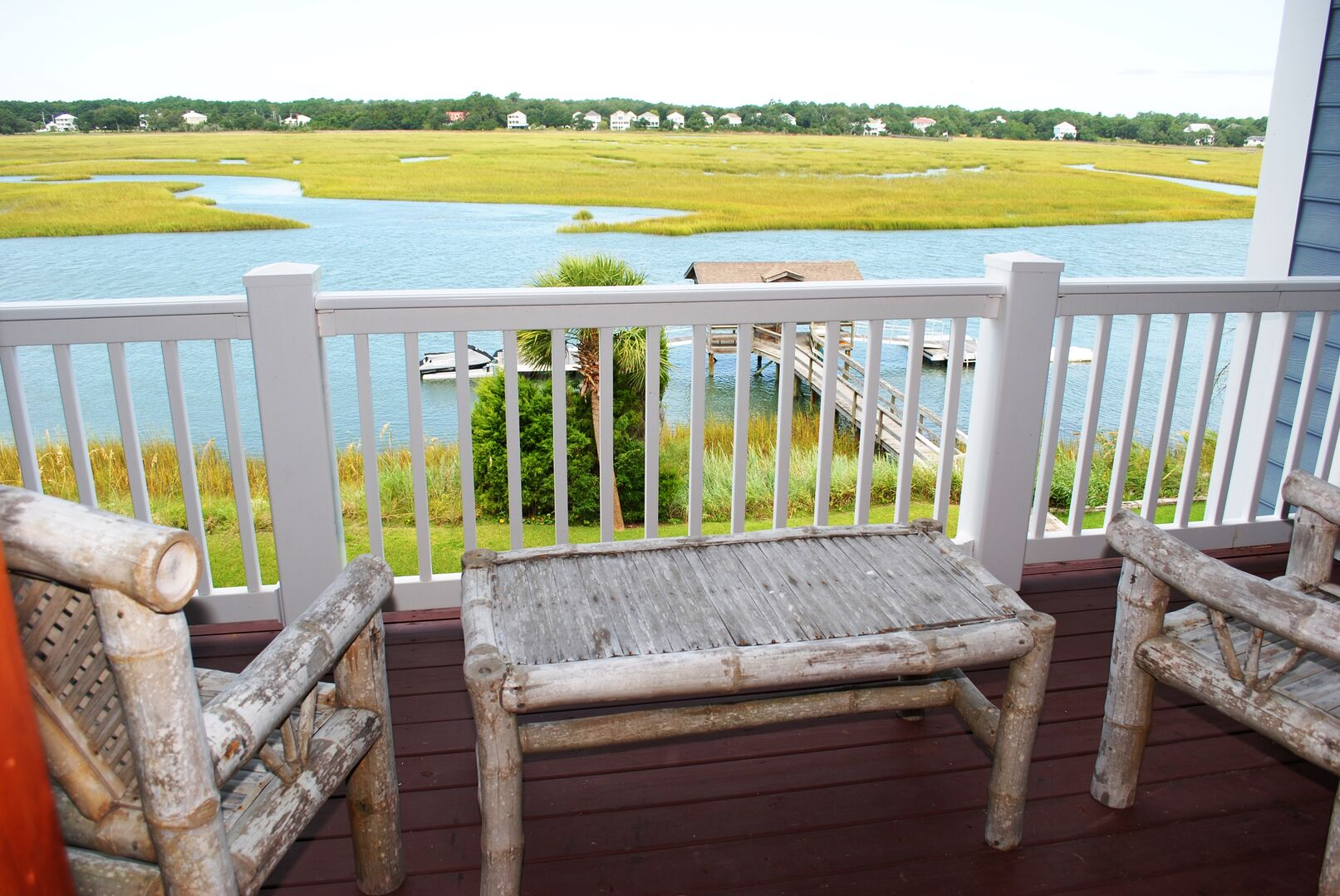 Balcony with Creek View - Second Floor