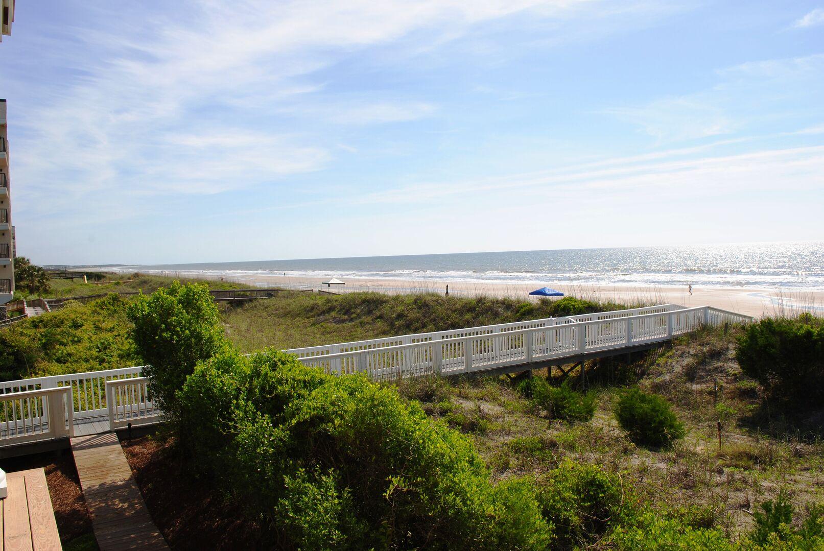 Walkway to the Beach