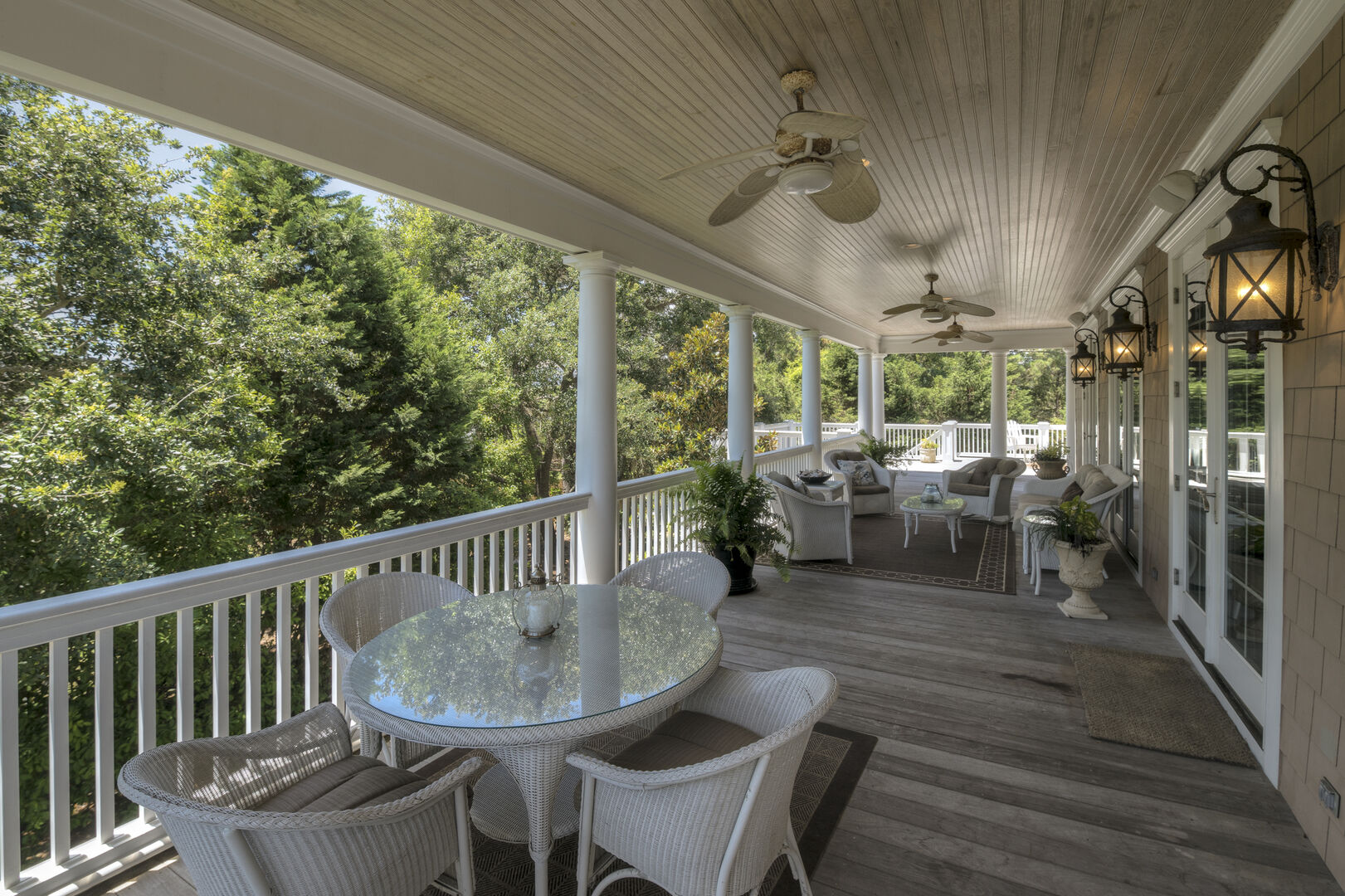 Covered Porch - First Floor
