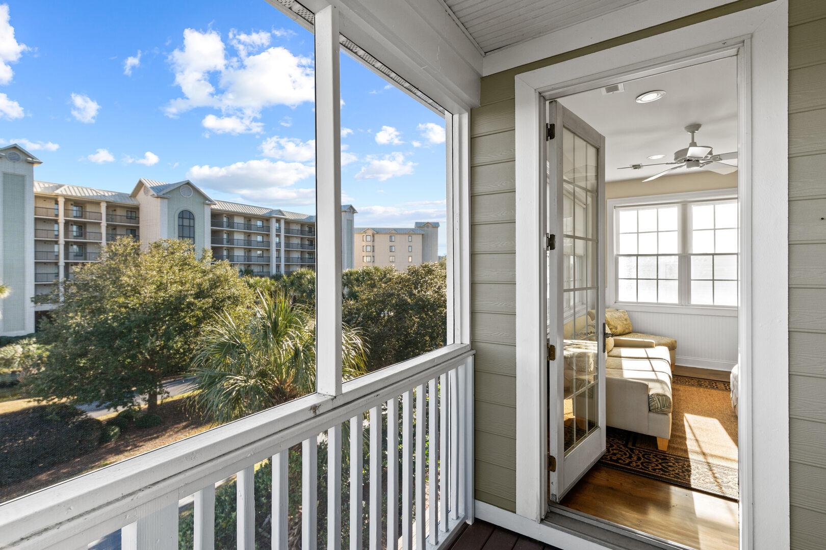Porch - Second Floor