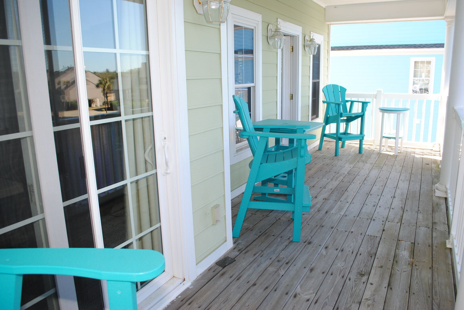 Covered Deck - Second Floor