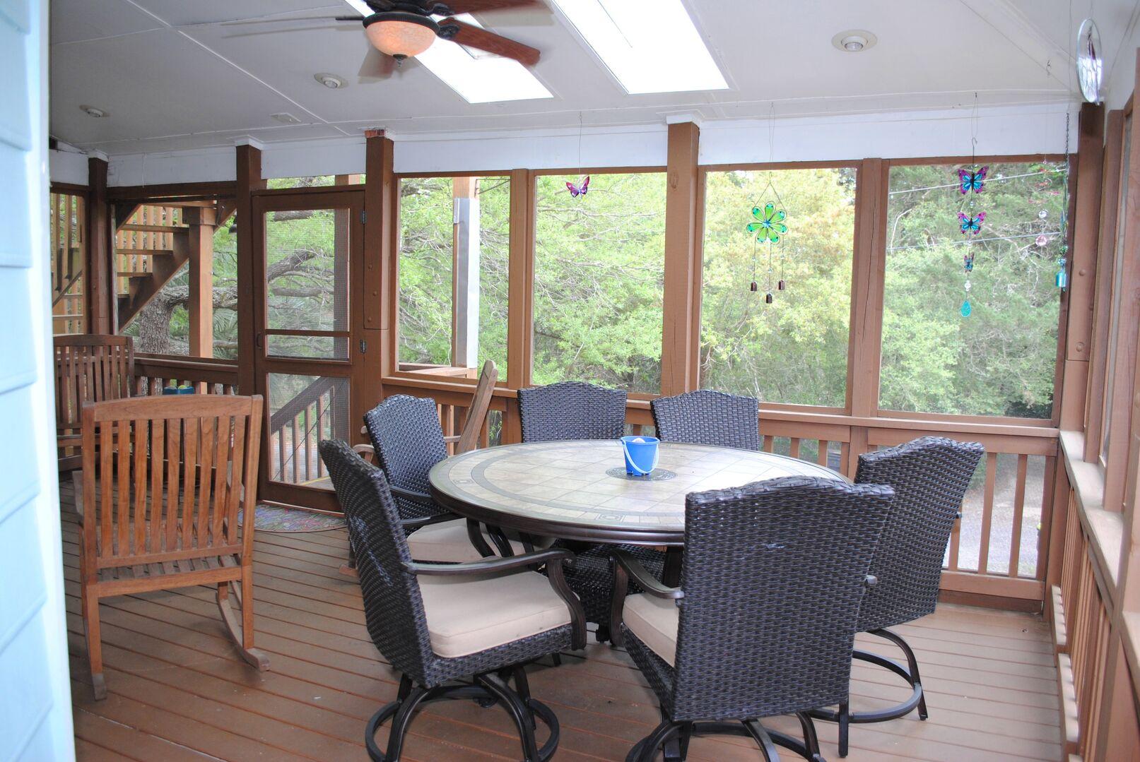 Screen Porch - First Floor