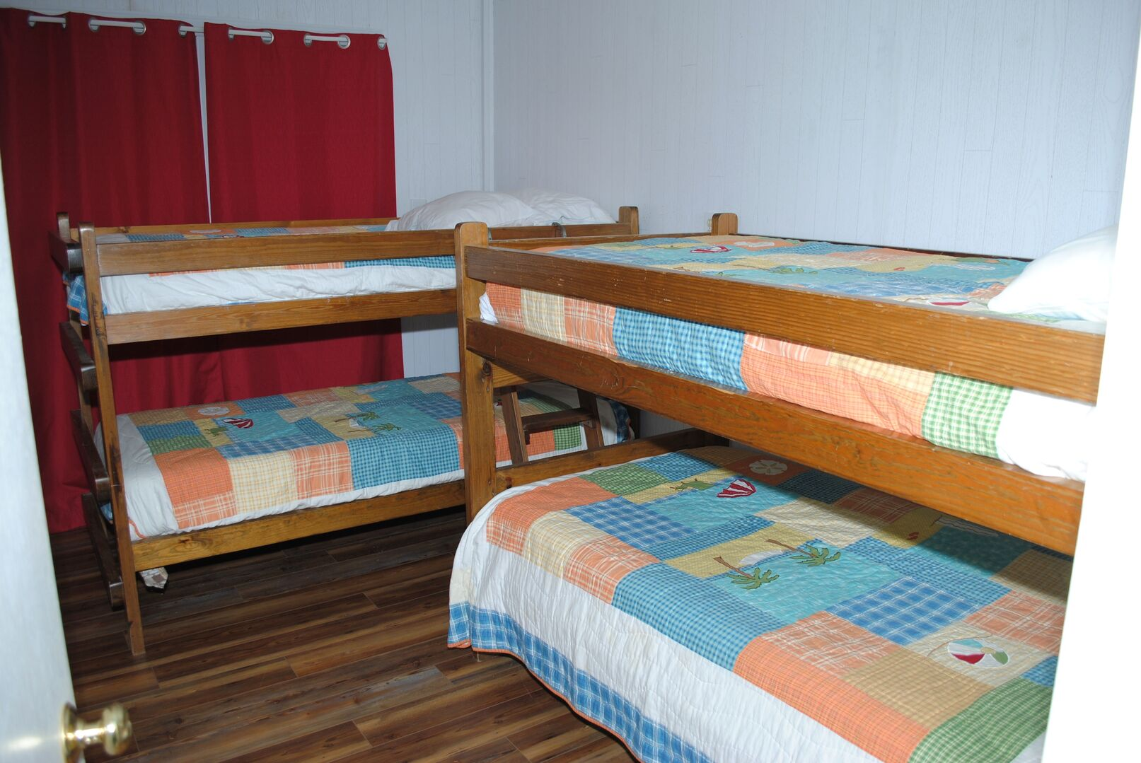 2 Sets of Bunk Beds - Ground Level