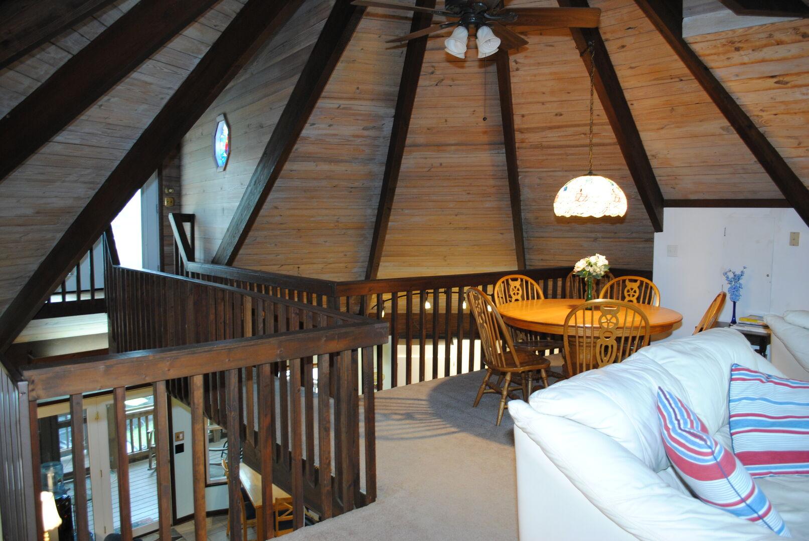 Loft Living Area with Access to Loft Sun Deck