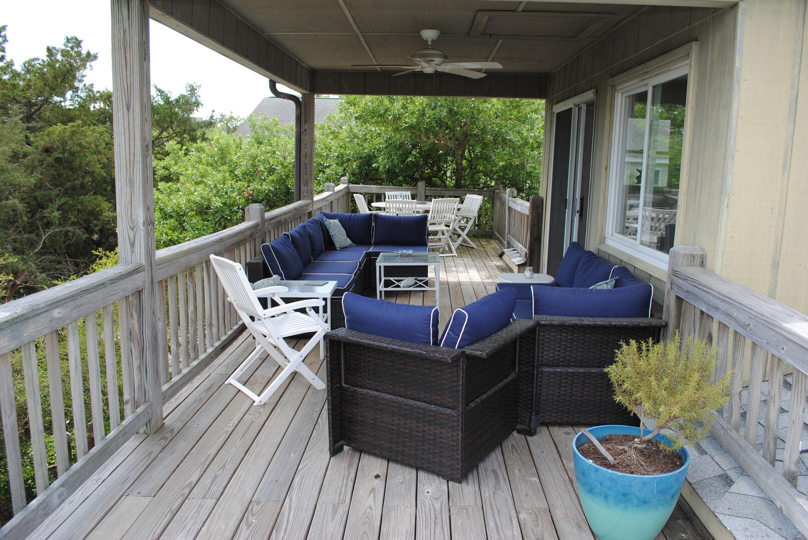 Deck - Second Floor