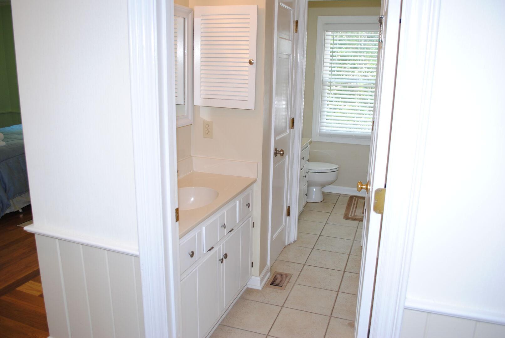 Hallway Bathroom and Laundry Area - First Floor
