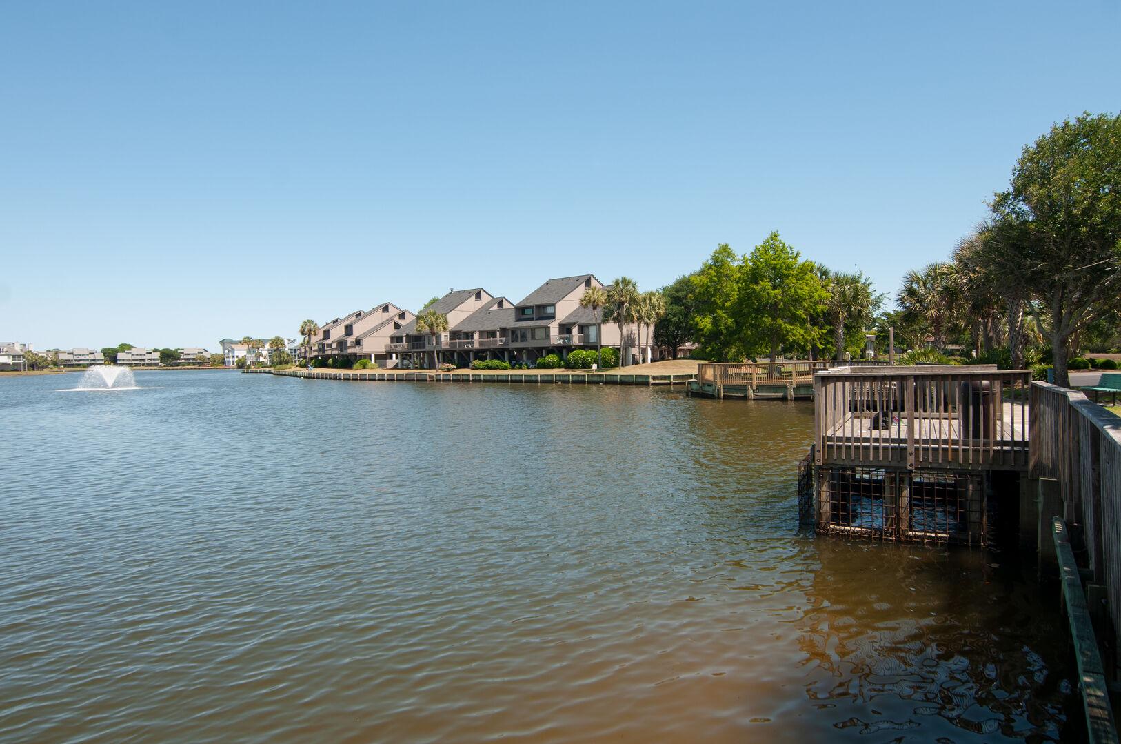Community Fishing Docks
