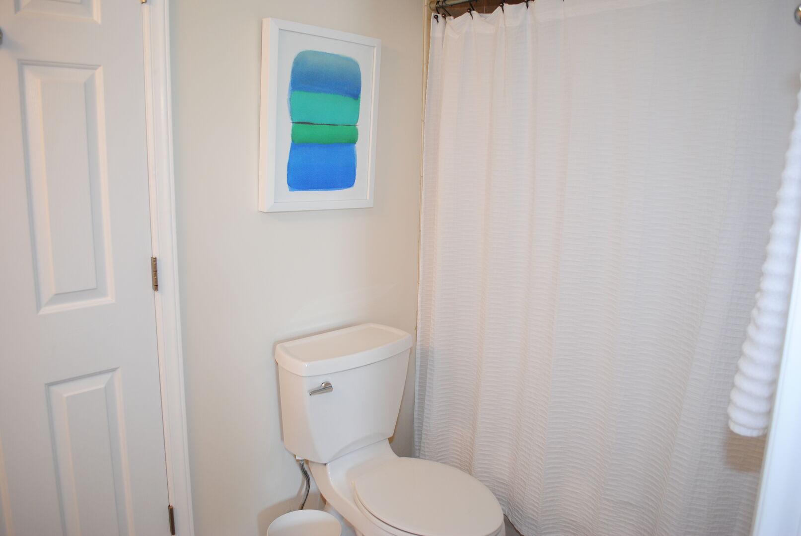 Shared Bathroom (Hallway and Twins Bedroom)