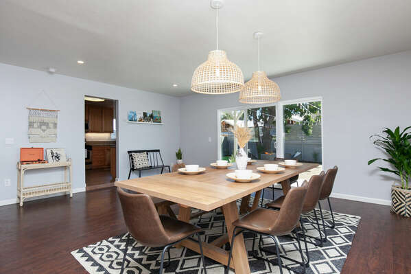 Formal Dining Area for Entertaining