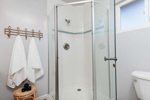 Master En-Suite Shower - Second Floor