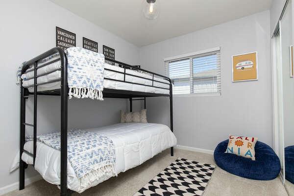 Bunk Room, Twin/Twin Bunk - First Floor