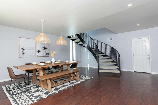 Stairwell to Second Floor Master Suite