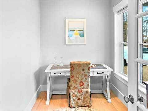 Remote work or learning in the office at -31 Pine Rd West Dennis- Cape Cod- New England Vacation Rentals