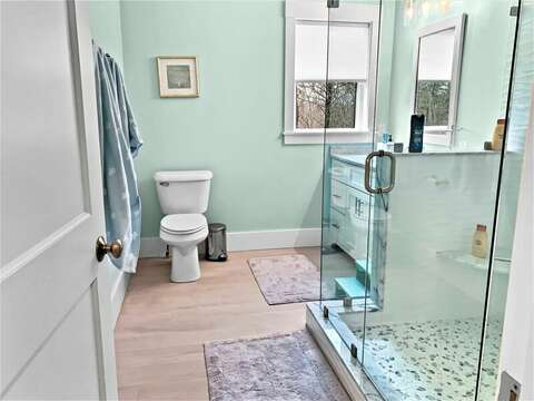 Bathroom #3 full with large shower-31 Pine Rd West Dennis- Cape Cod- New England Vacation Rentals