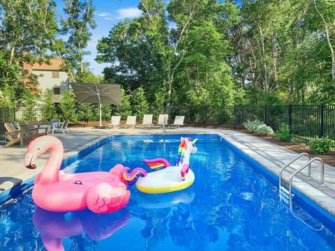 Fun times instore at the pool -31 Pine Rd West Dennis- Cape Cod- New England Vacation Rentals